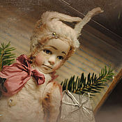 Куклы и игрушки ручной работы. Ярмарка Мастеров - ручная работа Ляля.Рождественская коллекция.. Handmade.