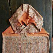 """Шали ручной работы. Ярмарка Мастеров - ручная работа Шаль """" Апельсиновое дерево"""". Handmade."""