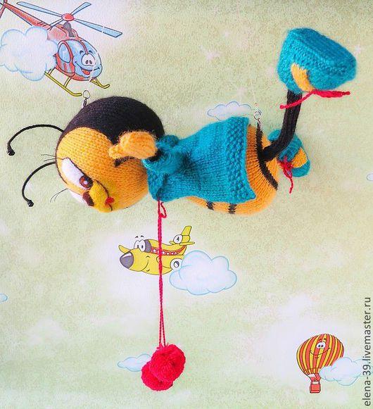 """Игрушки животные, ручной работы. Ярмарка Мастеров - ручная работа. Купить """"Boeing-2"""". Полет нормальный!)). Handmade. Авторская кукла"""