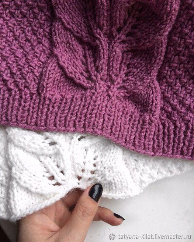 Master Class on knitting sweaters 'Awakening', Knitting patterns, Surgut,  Фото №1