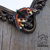 Украшения handmade. Livemaster - original item Brooch of the skin Butterfly Rash. Handmade.