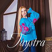 Одежда ручной работы. Ярмарка Мастеров - ручная работа Блуза бохо вышитая женская, этно стиль,Bohemia. Handmade.