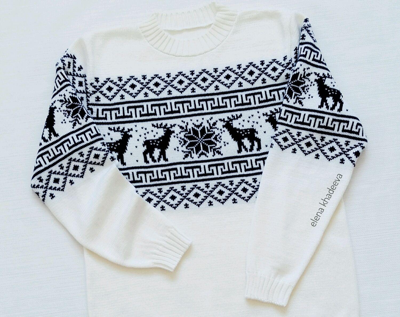 Мужской свитер с орнаментом, Свитеры мужские, Краснодар,  Фото №1