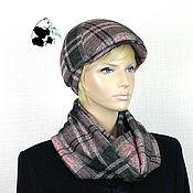 Аксессуары handmade. Livemaster - original item Youth women`s cap plus LIC. Several colors. # №9. Handmade.