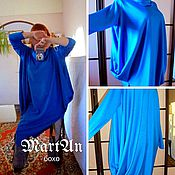 Одежда handmade. Livemaster - original item Tunic dress long sleeve boho universal. Handmade.