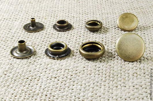 """Другие виды рукоделия ручной работы. Ярмарка Мастеров - ручная работа. Купить 15 мм Кнопки тип """"Кольцо"""". Handmade."""
