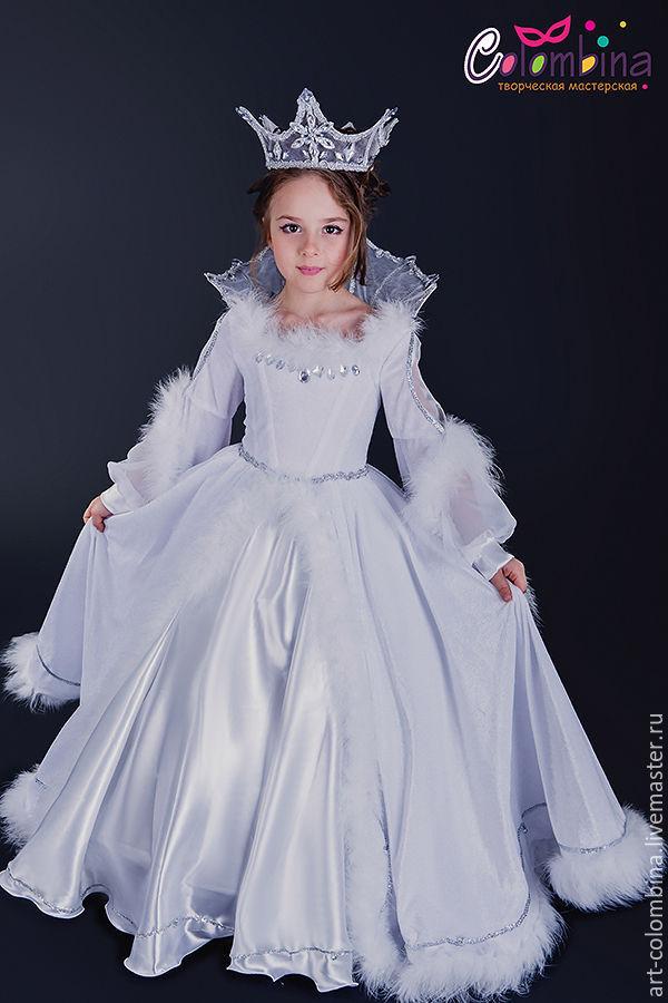 Купить Костюм снежной королевы - белый, снежная королева ... - photo#5
