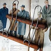 Винтаж handmade. Livemaster - original item Vintage hanger on two hooks, USSR. Handmade.
