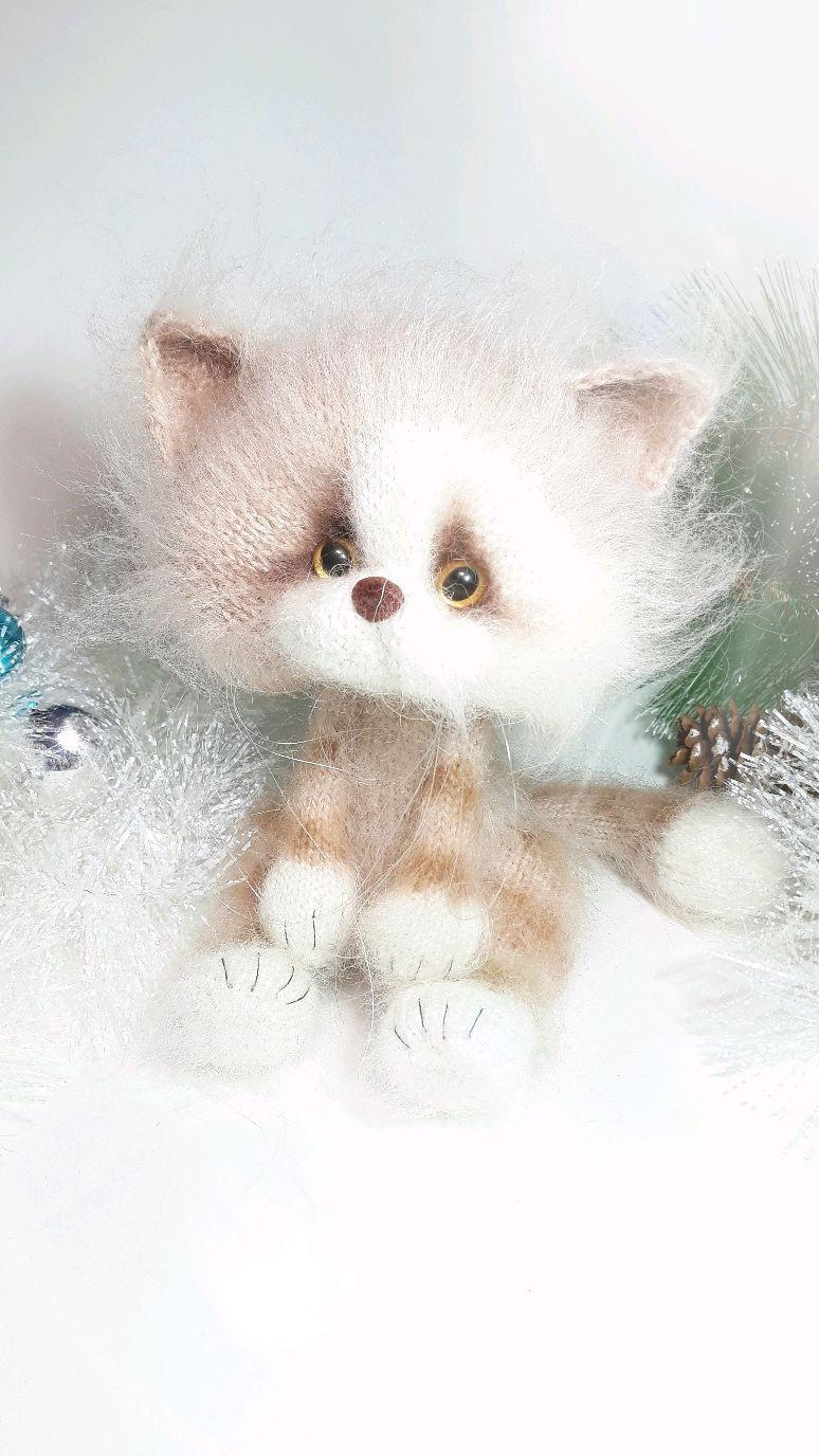 Кремовый котёнок, Мягкие игрушки, Нижний Тагил,  Фото №1