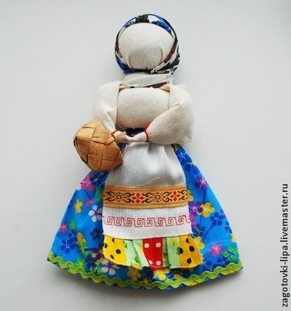 Сувениры ручной работы. Ярмарка Мастеров - ручная работа. Купить Народная кукла с лукошком. Handmade. Кукла, народная кукла