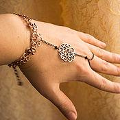 Украшения ручной работы. Ярмарка Мастеров - ручная работа Слейв браслет Амани. Handmade.