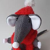 Мягкие игрушки ручной работы. Ярмарка Мастеров - ручная работа Мягкие игрушки: Крыс Мышкинс. Handmade.