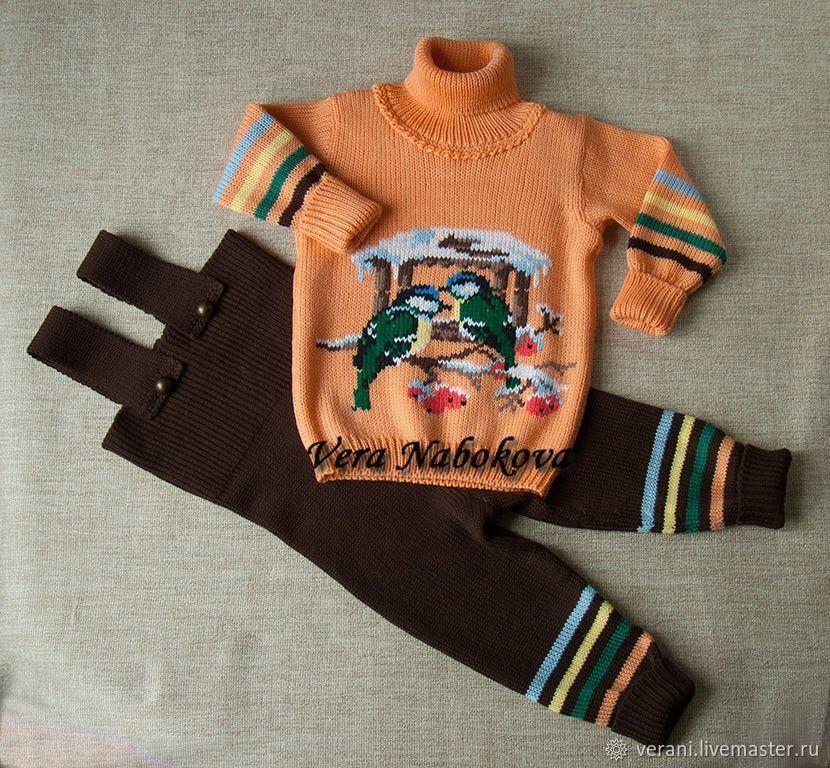 Комплекты одежды: Комплект детский из шерсти Зимняя сказка, Комплекты одежды для малышей, Санкт-Петербург,  Фото №1