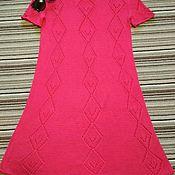 Одежда ручной работы. Ярмарка Мастеров - ручная работа Платье вязаное Азалия. Handmade.