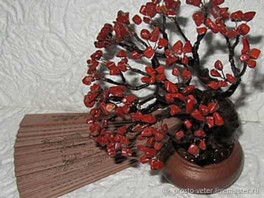 Red Jasper bonsai spray of dawn, Bonsai, Moscow,  Фото №1