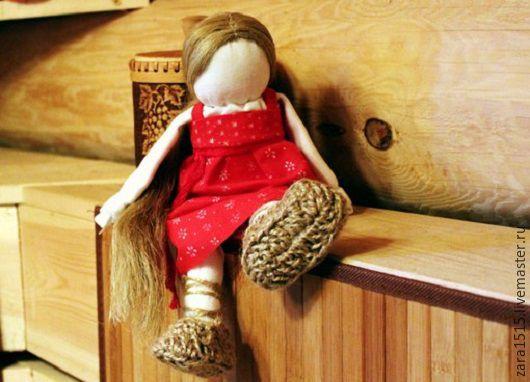 Сувениры ручной работы. Ярмарка Мастеров - ручная работа. Купить Кукла на выхвалку, Простоволоска. Handmade. Комбинированный, русская кукла