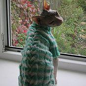 Для домашних животных, ручной работы. Ярмарка Мастеров - ручная работа Свитер для животных. Handmade.