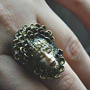 """Украшения ручной работы. Ярмарка Мастеров - ручная работа кольцо """"Гамаюн"""" скульптурная миниатюра.. Handmade."""