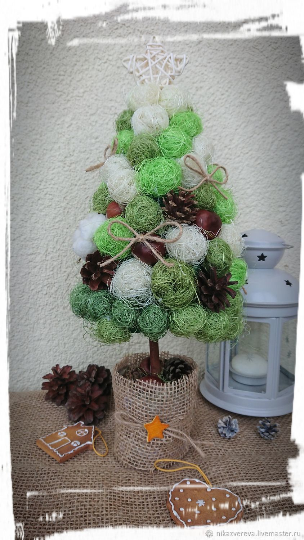 Christmas tree from sisal ' snow mint', Tree, St. Petersburg,  Фото №1