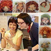 """Материалы для творчества ручной работы. Ярмарка Мастеров - ручная работа Художественный мастер-класс """"Создание кукольного лица"""". Handmade."""