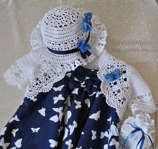 Одежда для девочек, ручной работы. Ярмарка Мастеров - ручная работа. Купить Комплект для девочки Взмах Крыльев Бабочки. Handmade.