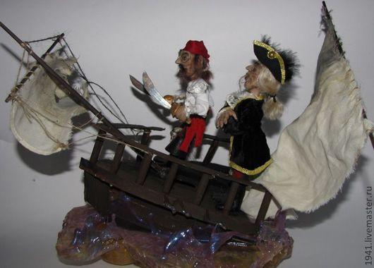 Коллекционные куклы ручной работы. Ярмарка Мастеров - ручная работа. Купить Корсар. Handmade. Авторская кукла, интерьерная кукла, Цернит