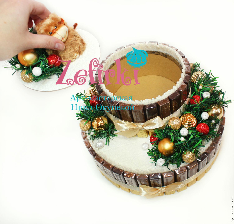Большие конфеты для подарка на новый год