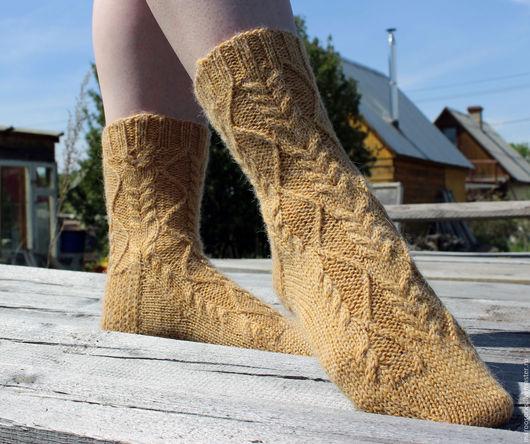 Носки, Чулки ручной работы. Ярмарка Мастеров - ручная работа. Купить Носки женские Типпи. Handmade. Вязаные носки, носки