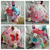 Куклы и игрушки ручной работы. Ярмарка Мастеров - ручная работа Развивающий мячик для деток. Handmade.