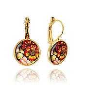 Украшения handmade. Livemaster - original item Multi-colored earrings female gifts