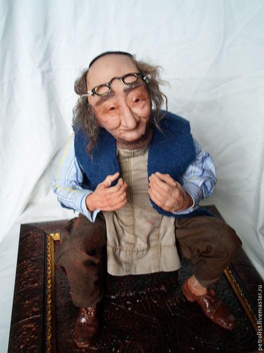 Коллекционные куклы ручной работы. Ярмарка Мастеров - ручная работа. Купить Еврейский портной. Будет день и будет пища-жить не торопись..... Handmade.