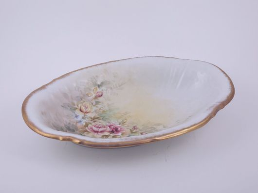 Винтажная посуда. Ярмарка Мастеров - ручная работа. Купить Блюдо из Франции. Handmade. Фарфор, винтаж, посуда