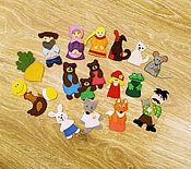 Куклы и игрушки ручной работы. Ярмарка Мастеров - ручная работа Пальчиковый театр из фетра. Handmade.