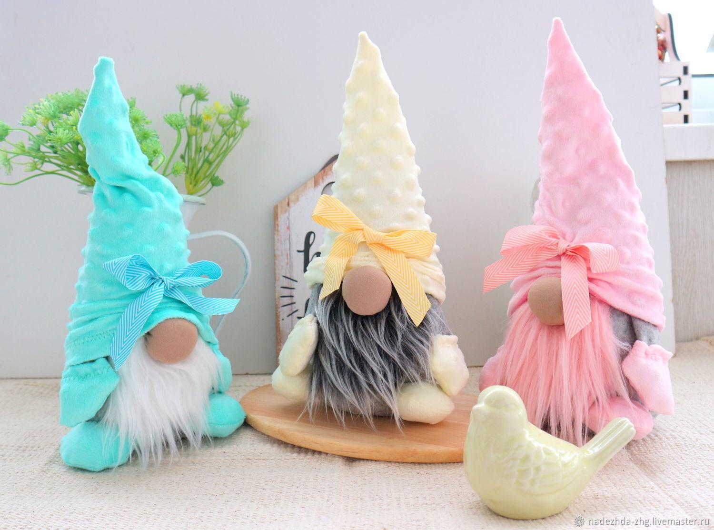 Bright Dwarf interior toy, housewarming gift, Easter souvenirs, Ekaterinburg,  Фото №1