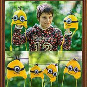 Работы для детей, ручной работы. Ярмарка Мастеров - ручная работа Игрушапки, игрушарфы, игрушки-одёжки.. Handmade.