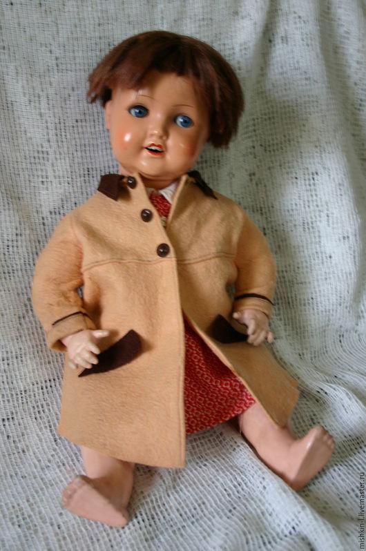 Одежда для кукол ручной работы. Ярмарка Мастеров - ручная работа. Купить Комплект одежды на винтажную куклу. Handmade. Антикварная кукла