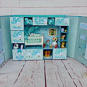 """Подарки к праздникам ручной работы. Ярмарка Мастеров - ручная работа Мамины сокровища """"Детская комната"""". Handmade."""