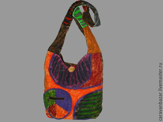 Сумки и аксессуары ручной работы. Ярмарка Мастеров - ручная работа. Купить Сумка в этническом непальском стиле. Handmade. Абстрактный, хиппи
