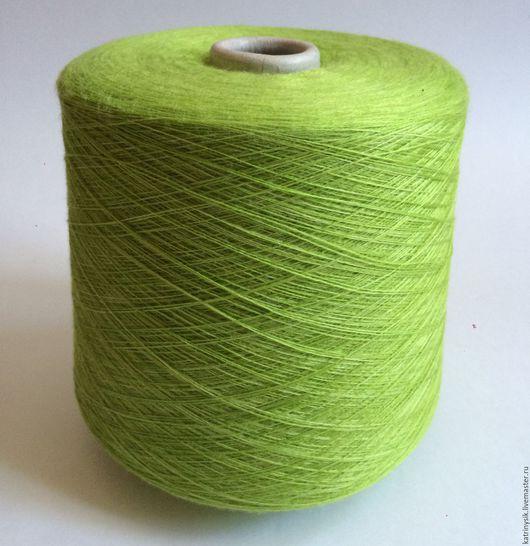 Вязание ручной работы. Ярмарка Мастеров - ручная работа. Купить Lineapiu. Handmade. Салатовый, пряжа для вязания, пряжа в наличии