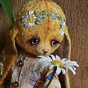 """Куклы и игрушки ручной работы. Ярмарка Мастеров - ручная работа Плюшевая зайка """"Наташка"""". Handmade."""