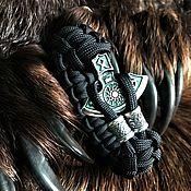 Украшения handmade. Livemaster - original item Axe bracelet with charms. Handmade.