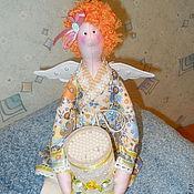 Куклы и игрушки ручной работы. Ярмарка Мастеров - ручная работа Банная фея Нюрочка. Тильда. Handmade.