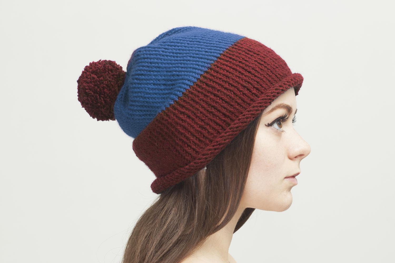 Фото шапок двух цветов