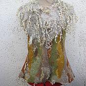 """Одежда ручной работы. Ярмарка Мастеров - ручная работа Жилет """" Лесной"""". Handmade."""