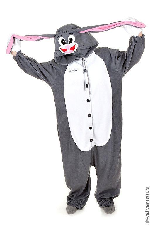 """Карнавальные костюмы ручной работы. Ярмарка Мастеров - ручная работа. Купить Костюм кигуруми  """"Bugs Bunny (Кролик Бакз Банни)"""". Handmade."""
