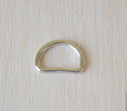 Шитье ручной работы. Ярмарка Мастеров - ручная работа. Купить Полукольцо 15х10 мм (2,2мм) никель. Handmade.