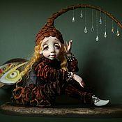 Куклы и игрушки ручной работы. Ярмарка Мастеров - ручная работа Переждать дождь. Handmade.