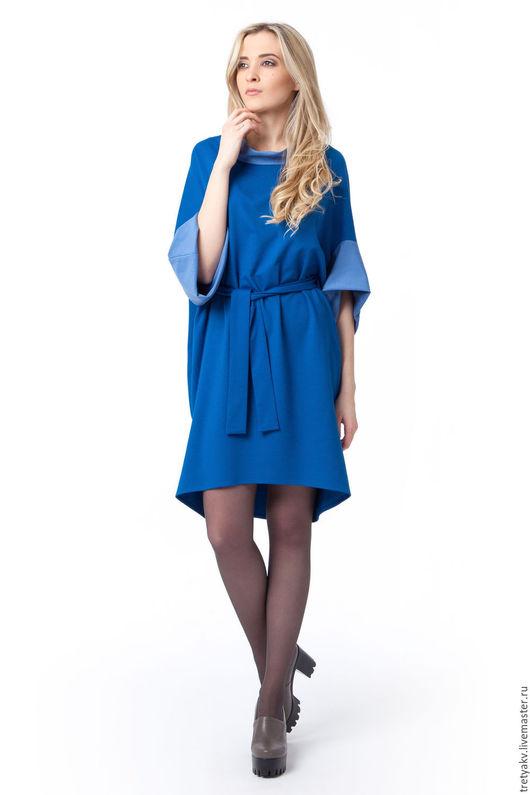 Платье из новой коллекции MODAMODULE Платье сшито из натурального джерси очень приятного к телу Обратите внимание на линии рукава, плеча и спинки Это сложная и необычная форма. Платье очень комфор