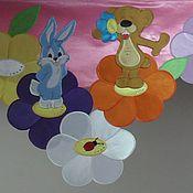 Для дома и интерьера ручной работы. Ярмарка Мастеров - ручная работа шторы в детскую. Handmade.