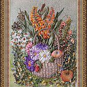 """Картины и панно ручной работы. Ярмарка Мастеров - ручная работа Картина """"Щедрая осень"""". Handmade."""